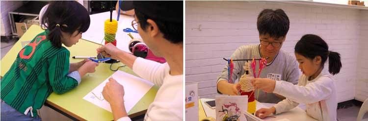 봄아르코미술관 [머물러도 좋아요] 아빠와 아이가 함께 온몸으로 예술을 느끼는 체험 현장