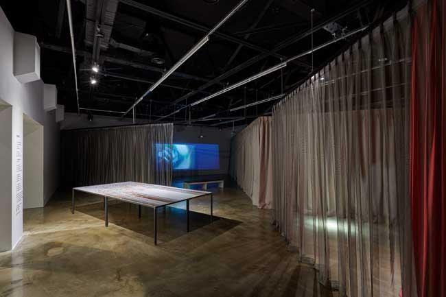 2018년 아르코미술관 주제기획전 Unclosed Bricks: 기억의 틈 전시 전경3